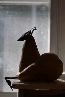 Photograph - Morning Shadows With Pears by Margie Avellino