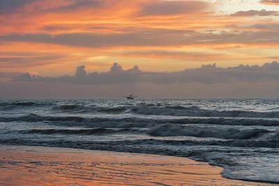 Photograph - Morning Shrimp Boat by Thomas Pettengill