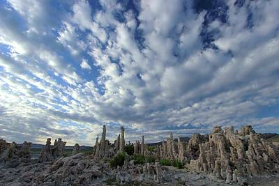 Photograph - Morning Skies Over Tufa by Sean Sarsfield