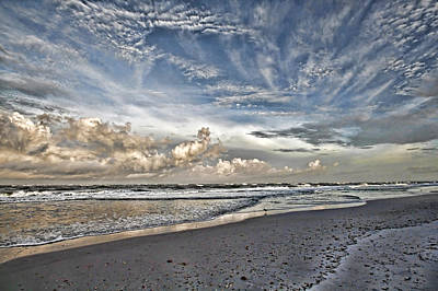 Photograph - Morning Sky At The Beach by HH Photography of Florida
