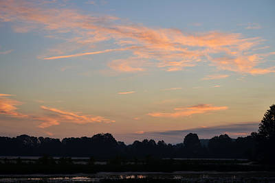 Photograph - Morning Sky In July by rd Erickson