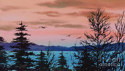 Painting - Morning Sky by James Williamson