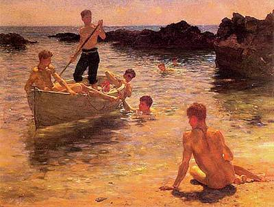 Painting - Morning Splendor  by Henry Scott Tuke