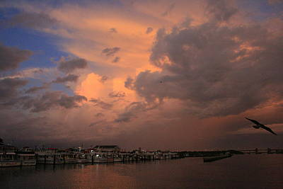 Photograph - Morning Squall Through Captree by Christopher Kirby