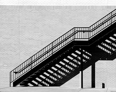 Photograph - Morning Stairs by Christopher McKenzie