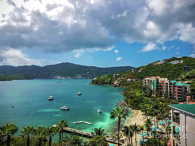 Photograph - Morning Star Bay - St Thomas by Colleen Kammerer