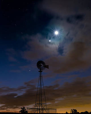 Photograph - Morning Stars by Bill Wakeley