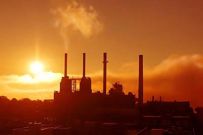 Photograph - Morning Steam by Todd Klassy