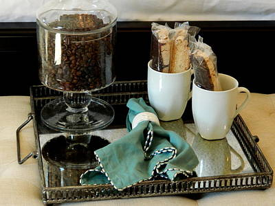 Biscotti Photograph - Morning Still Life by Arlane Crump