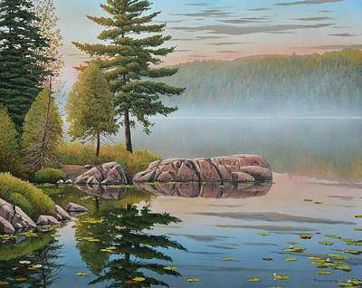 Painting - Morning Stillness by Jake Vandenbrink