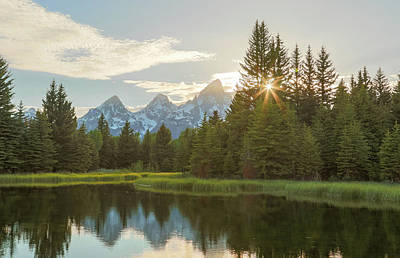 Photograph - Morning Sun At Schwabachers Landing by Dan Sproul
