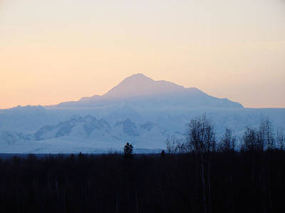 Alaska Photograph - Morning Sun by Dora Miller