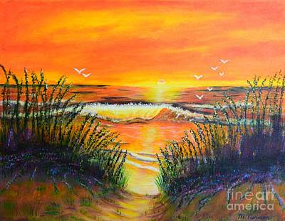 Painting - Morning Sun by Melvin Turner