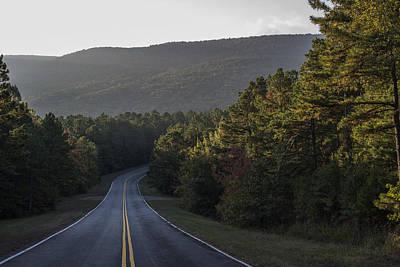 Photograph - Morning Sun On The Ridge by Robert Potts