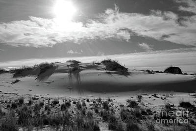 Photograph - Morning Sun Over White Sands by Jeffrey Hubbard
