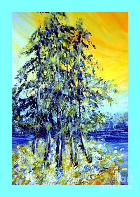 Painting - Morning Sunrise 18.6 by Oksana Semenchenko