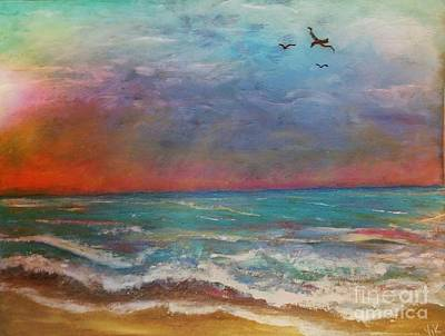 Painting - Morning Sunrise by Vickie Scarlett-Fisher