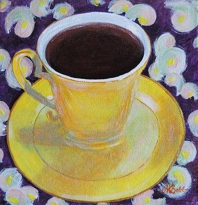 Brunch Painting - Morning Sunshine by Margaret Bobb