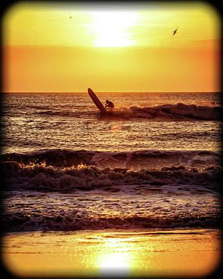 Photograph - Morning Surf by Alan Raasch