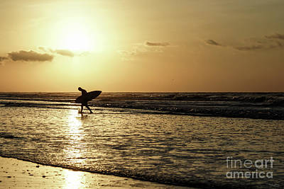 Photograph - Morning Surfer by Jennifer White