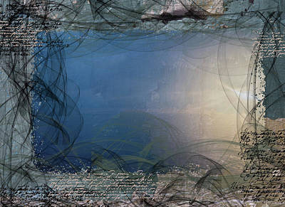 Digital Art - Morning Thoughts by Nadine Berg