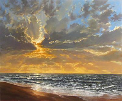 Morning Tide Original by David Henderson