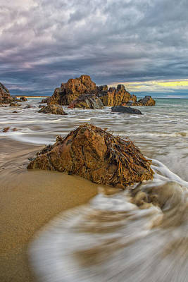 Photograph - Morning Tides At Marginal Way by Jesse MacDonald