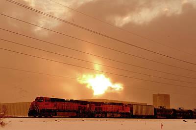 Photograph - Morning Train 2 by Scott Sawyer