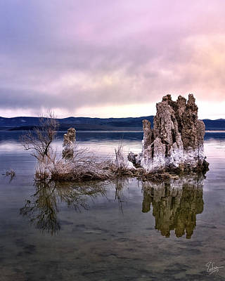 Photograph - Morning Tufa Five by Endre Balogh