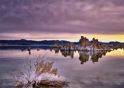 Photograph - Morning Tufa Six by Endre Balogh