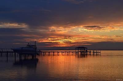 Photograph - 0210 Morning Twilight Colors On Sound by Jeff at JSJ Photography