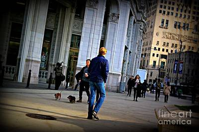 Frank J Casella Royalty-Free and Rights-Managed Images - Morning Vibe - City of Chicago by Frank J Casella