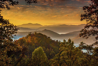 Maggie Valley Photograph - Morning View by Blue Ridge Mountain Life