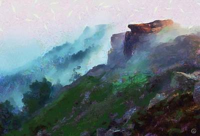 Fog Mist Digital Art - Morning View by Gun Legler