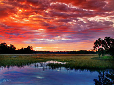 Lowcountry Marshes Photograph - Morning View by Phill Doherty