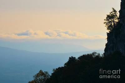 Photograph - Morning View Pilot Mountain  by Patrick M Lynch