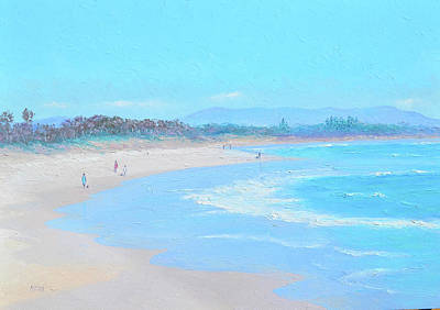Painting - Morning Walk At Byron Bay by Jan Matson