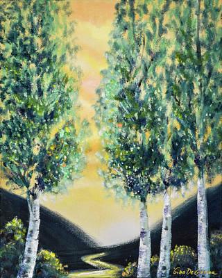 Painting - Morning Walk by Gina De Gorna