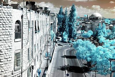 Photograph - Morning Walk In Jerusalem by John Rizzuto