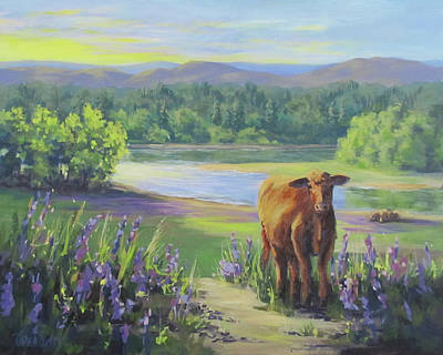 Painting - Morning Walk by Karen Ilari
