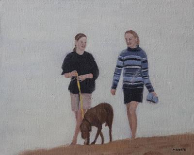 Painting - Morning Walk by Masami Iida