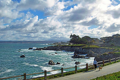 Photograph - Morning Walk - Pacific Grove by Jim Pavelle