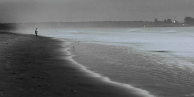 Art Print featuring the photograph Morning Walk by Ron Dubin