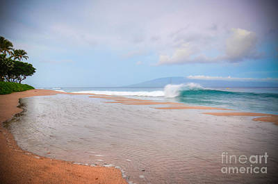Art Print featuring the photograph Morning Wave by Kelly Wade