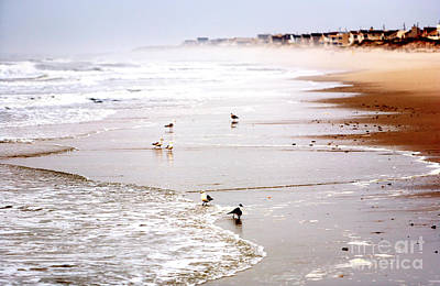Photograph - Morning Waves At Long Beach Island by John Rizzuto