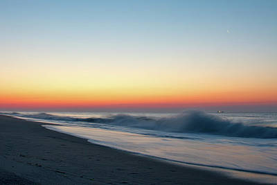 Photograph - Morning Waves - Beach Haven by Kristia Adams