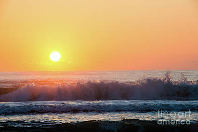 Morning Waves Art Print