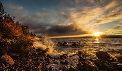 Photograph - Morning Waves by Rikk Flohr