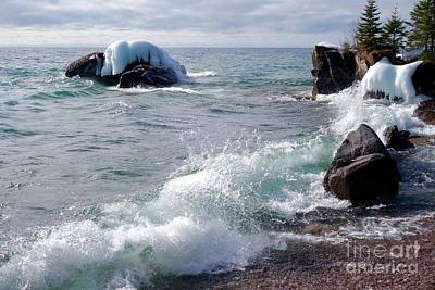 Photograph - Morning Waves by Sandra Updyke