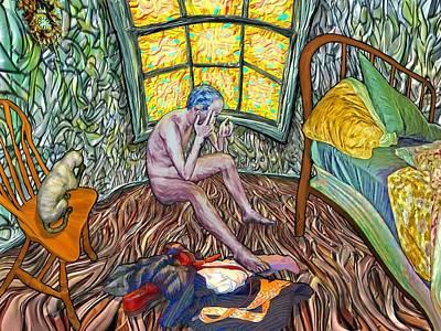 Digital Art - Morning Window by Jamison Smith